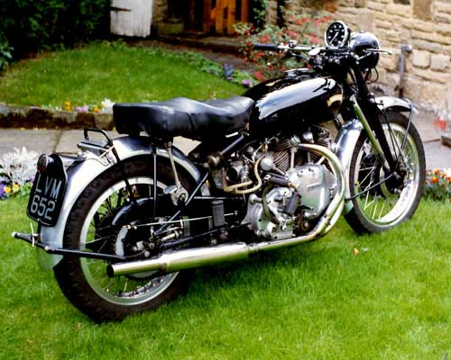 vincent motorcycle restoration